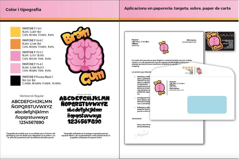 Brain Gum - Imagen Corporativa 2