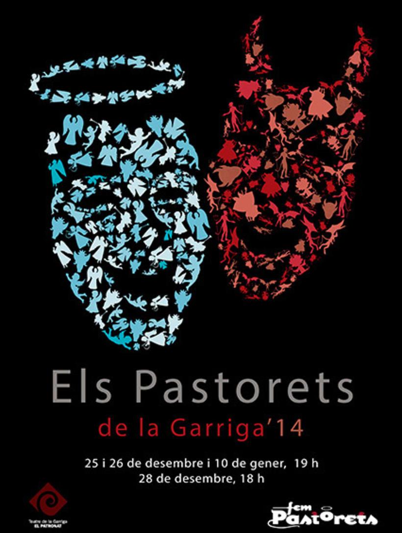 """Cartel """"Pastorets de La Garriga"""" -1"""