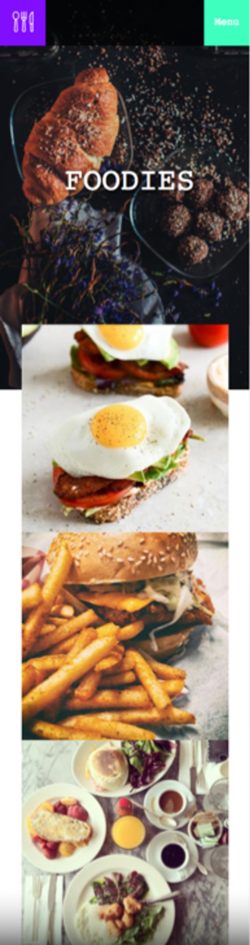 Foodies - Mi Proyecto del curso: Técnicas de Desarrollo Web con HTML5 y CSS3 2