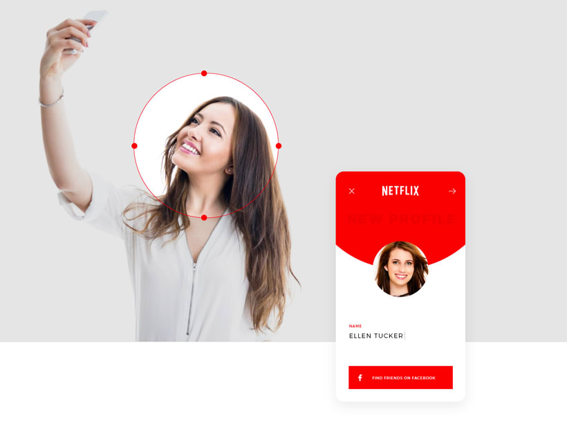 Netflix, New Experience UI/UX 3