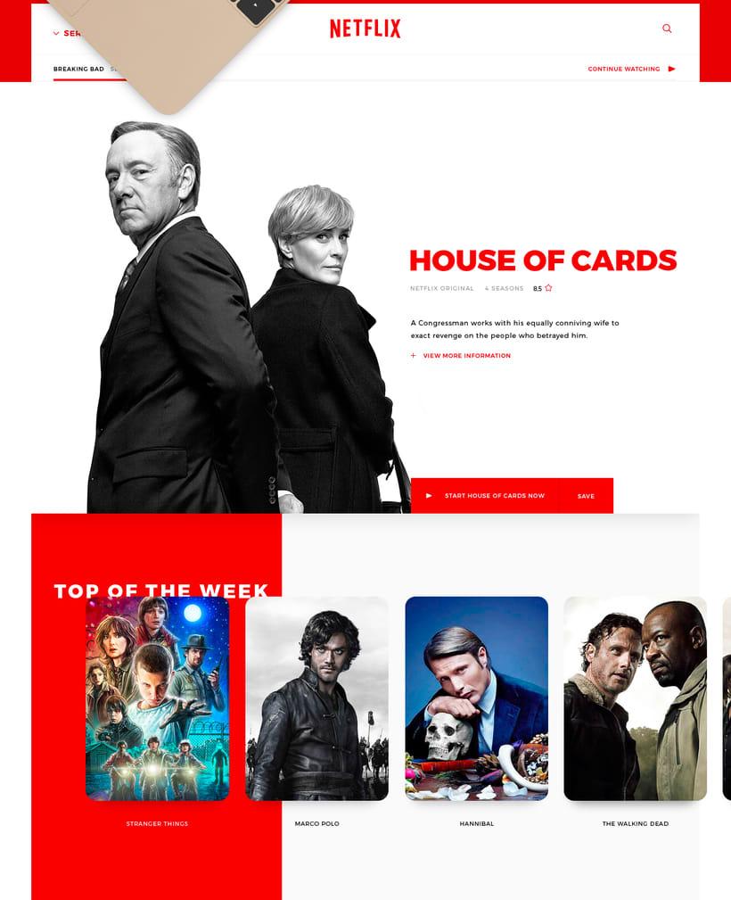 Netflix, New Experience UI/UX 7