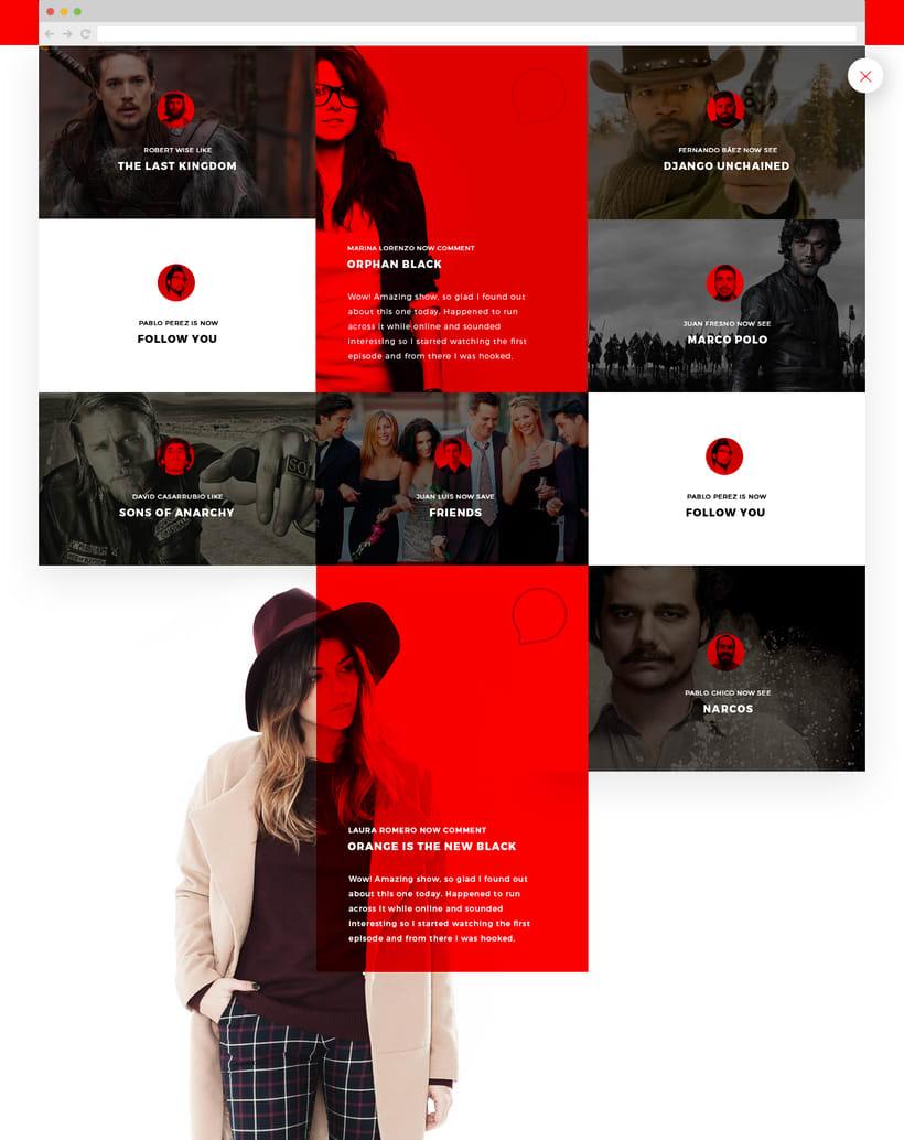 Netflix, New Experience UI/UX 13