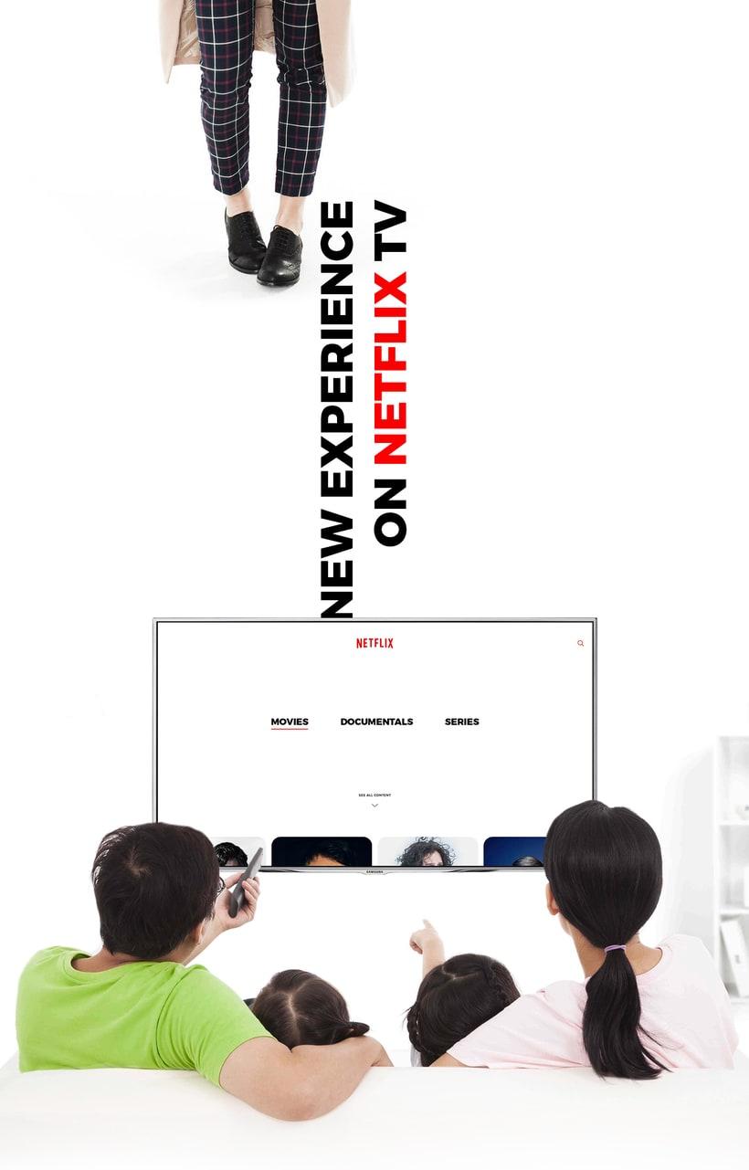 Netflix, New Experience UI/UX 14