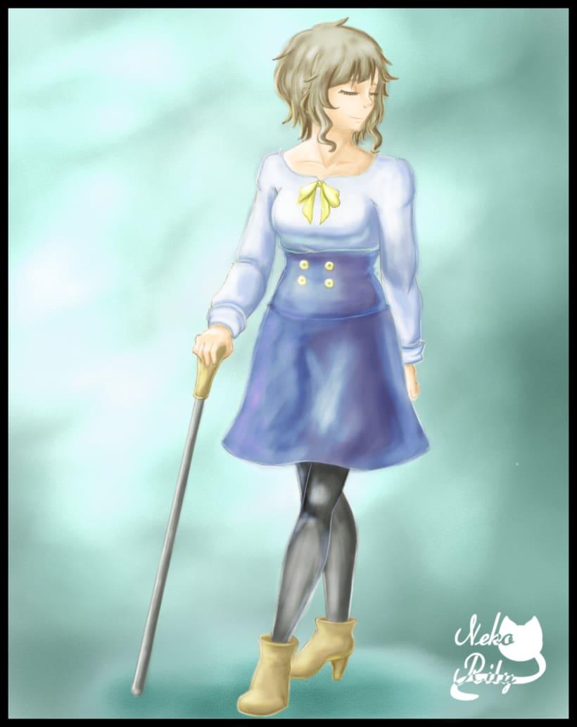 Ilustraciones de mi pagina de artista (actual estilo de dibujo y arte digital). 5