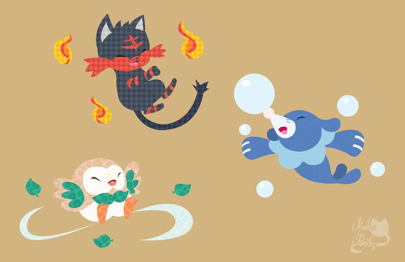 Ilustraciones de mi pagina de artista (actual estilo de dibujo y arte digital). 8