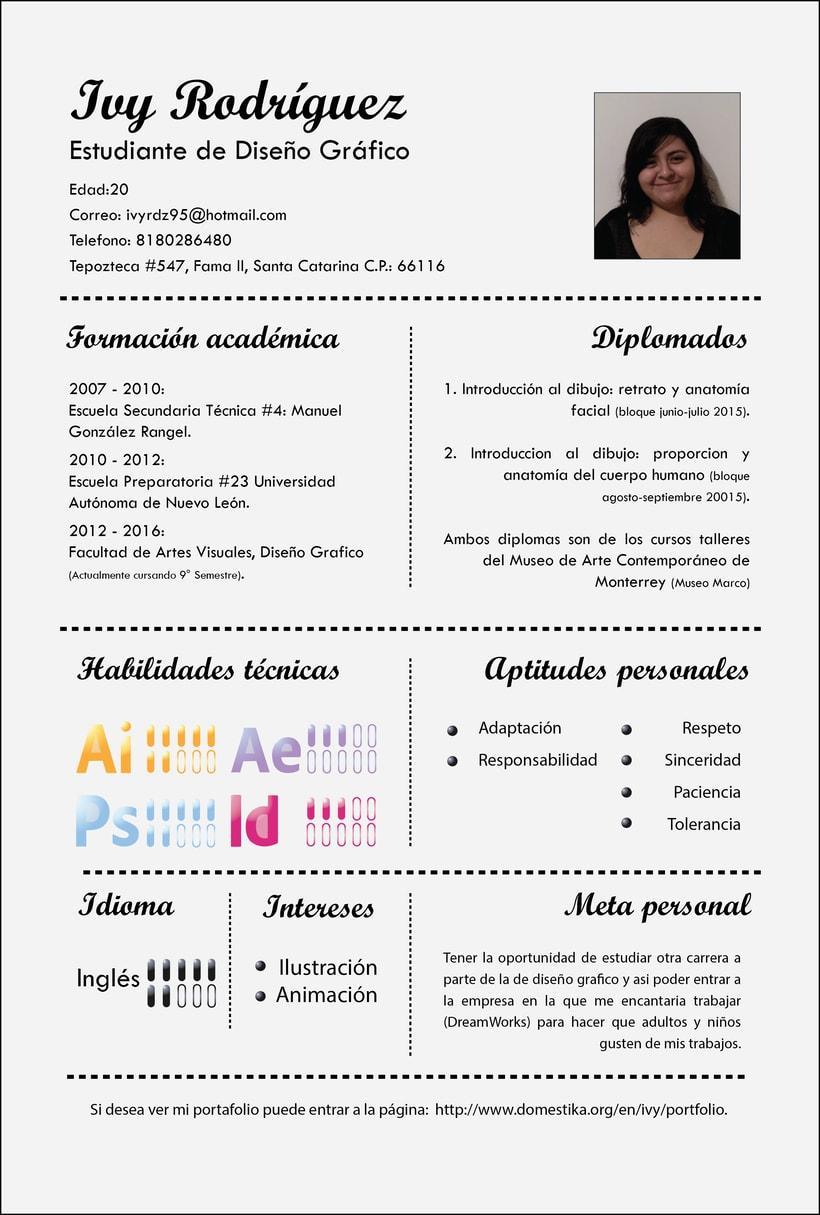 Curriculum Vitae Domestika