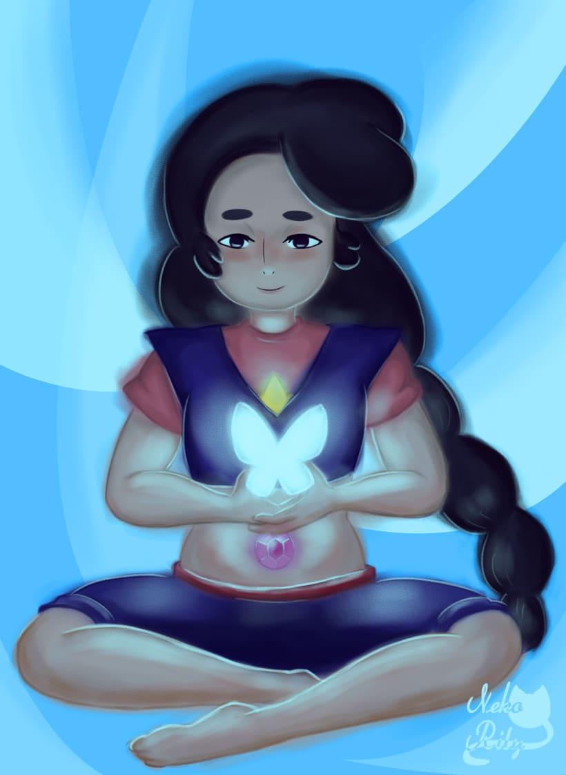 Ilustraciones de mi pagina de artista (actual estilo de dibujo y arte digital). 7
