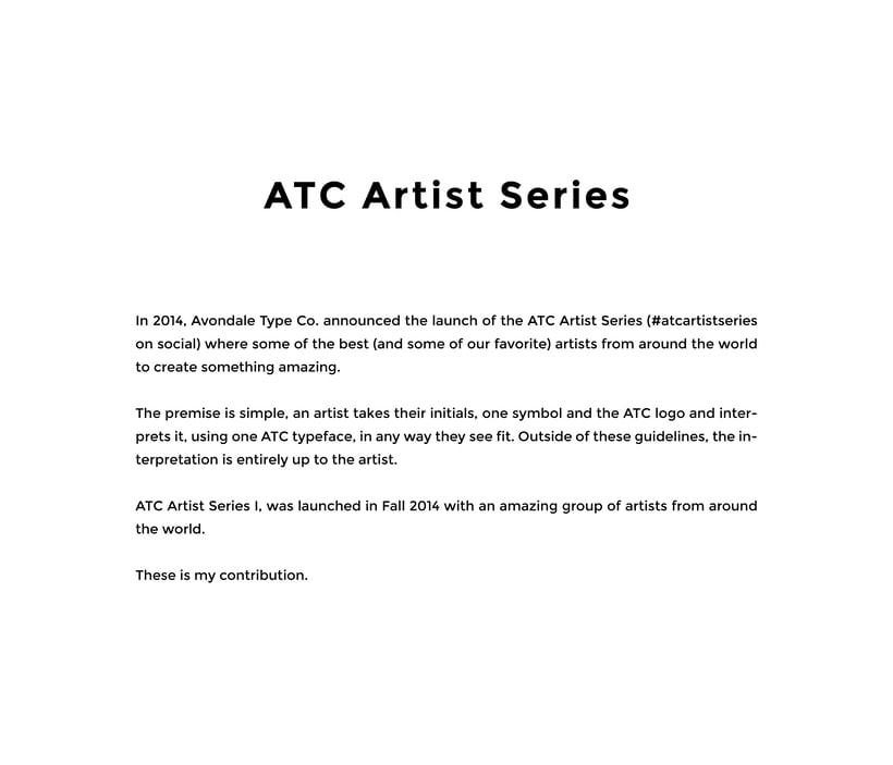 ATC Artist Series 2014 0