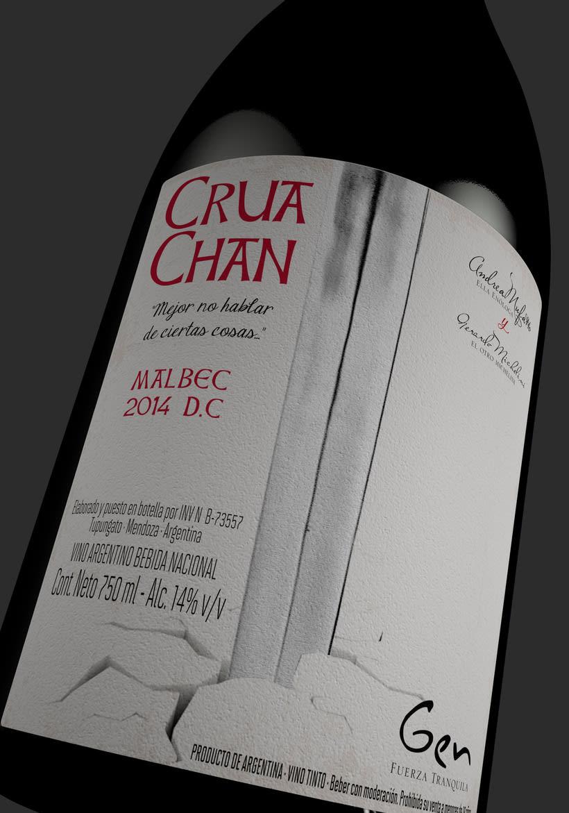 CRUA CHAN - DISEÑO DE PACKAGING  - VINO 6