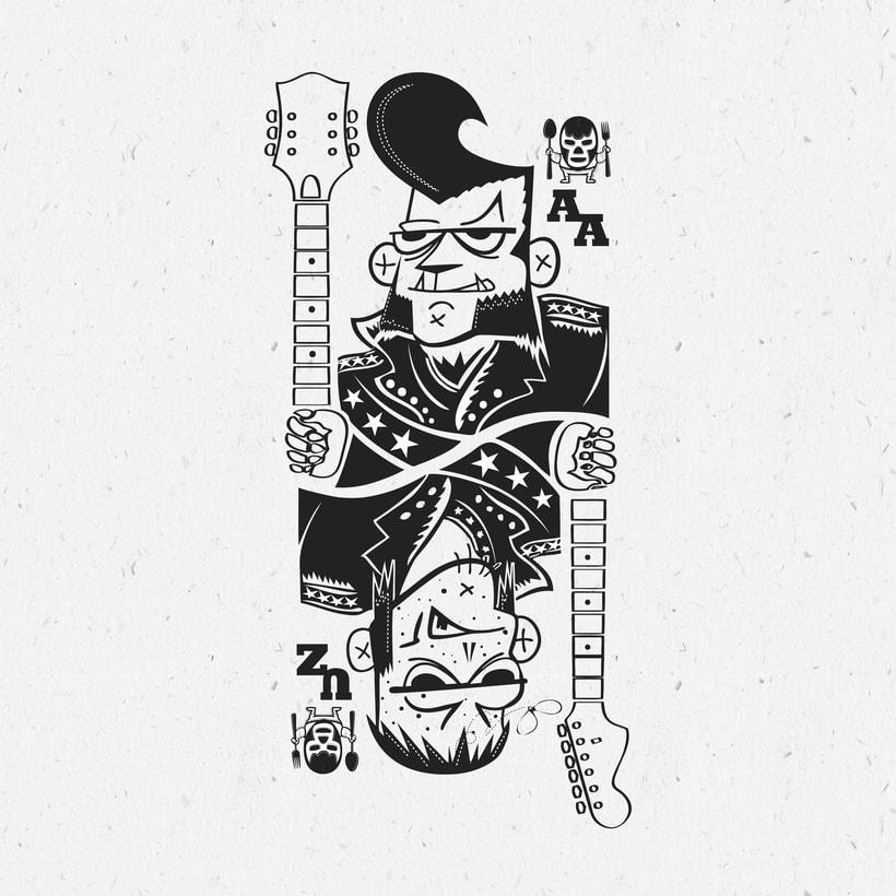 Vermut-O-Rama Aullido Atómico - Ukelele Zombies 0