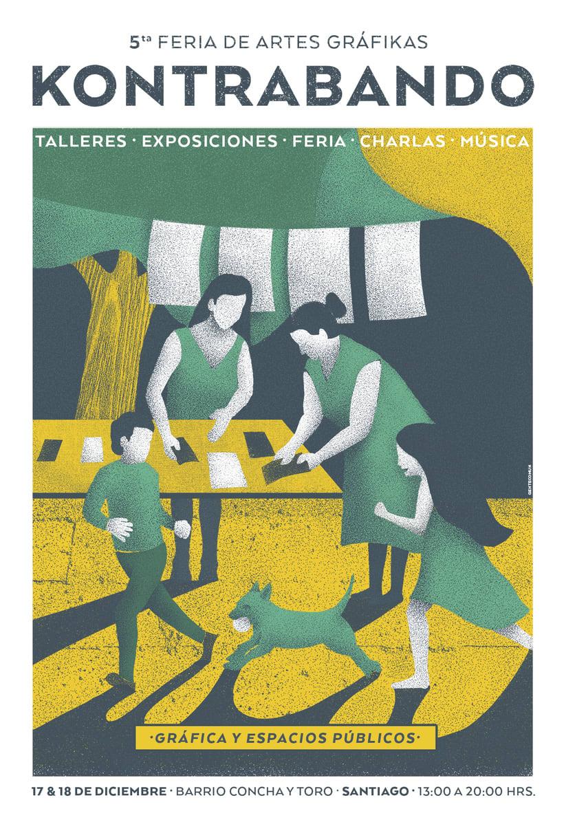 Feria de Artes Gráfikas Kontrabando -1