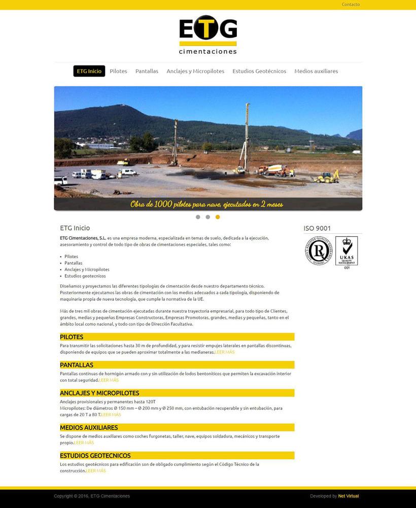 ETG Cimentaciones - 2014 0