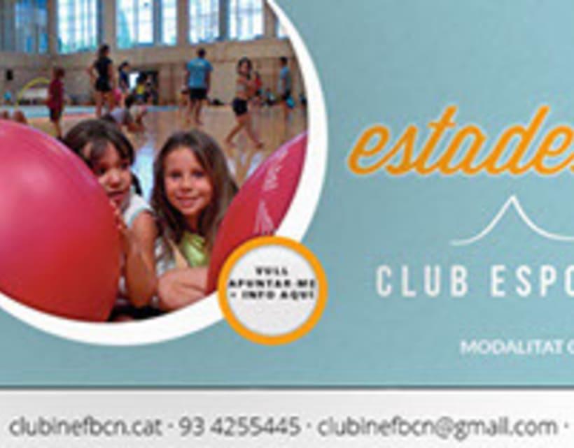 Facebook Ads Club Esportiu INEF Barcelona - 2014 -1