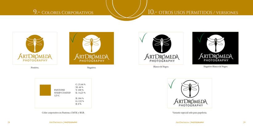Imagen Corporativa ArtDrómeda 6