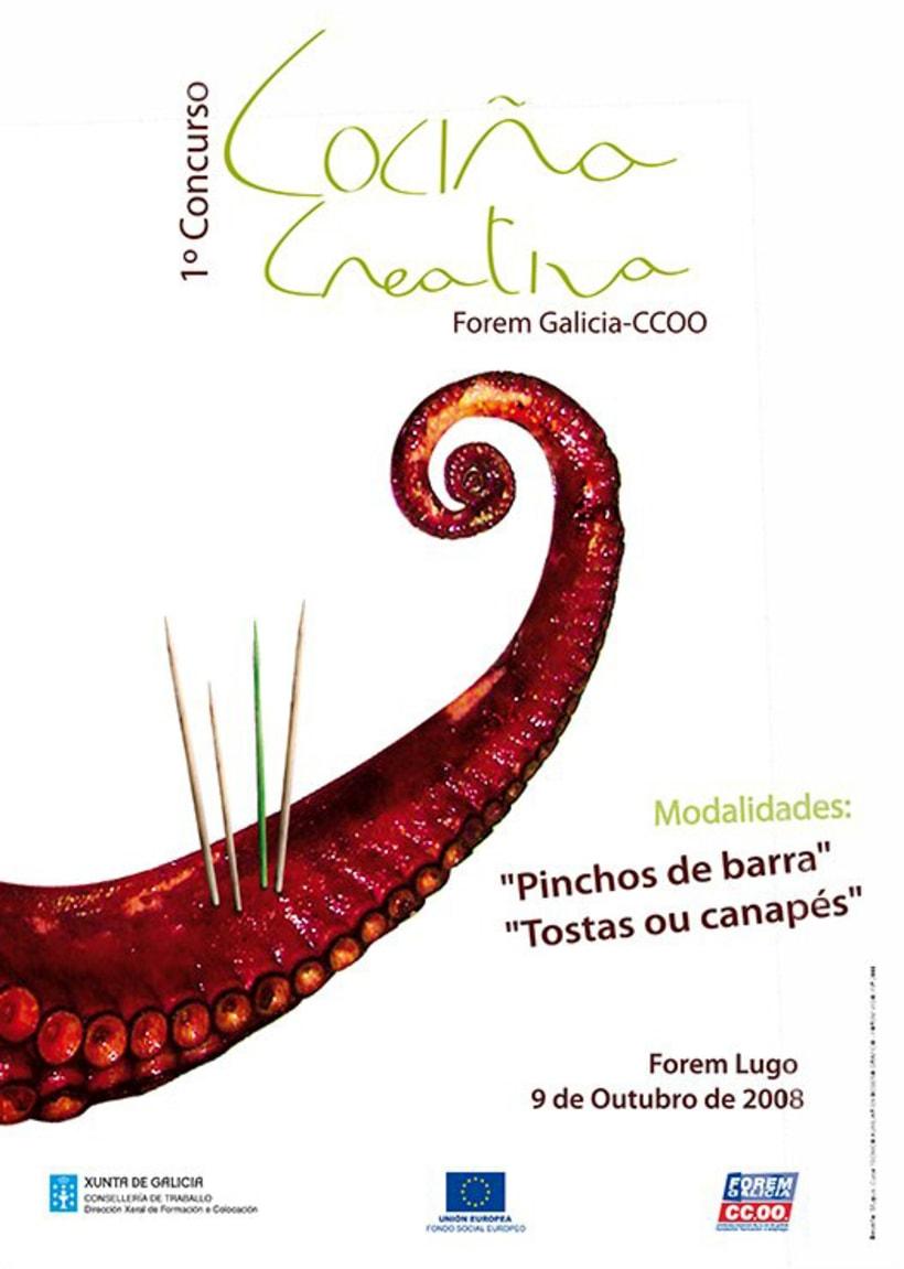 1er Concurso de Cociña Creativa 1