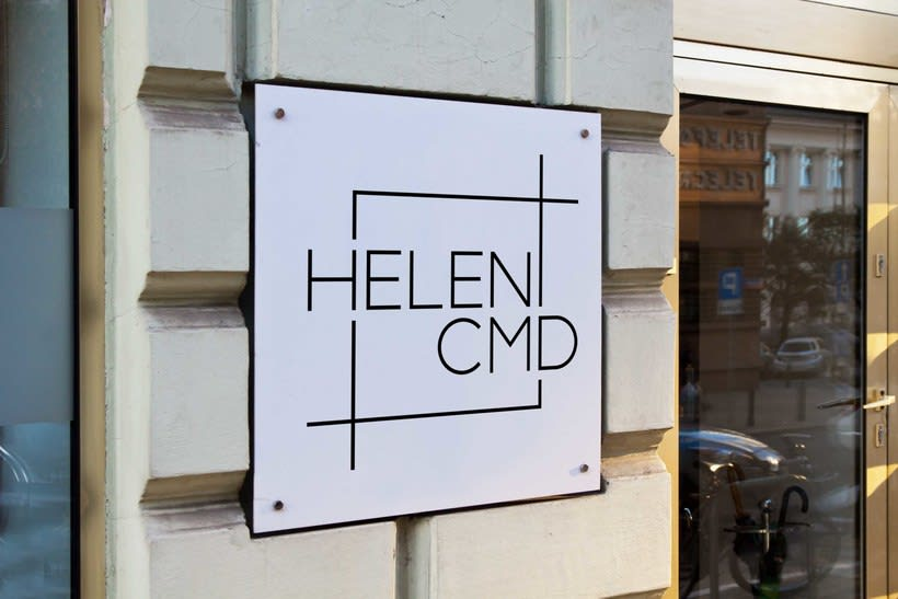 Brand Identity and Website for Helen CMD 11