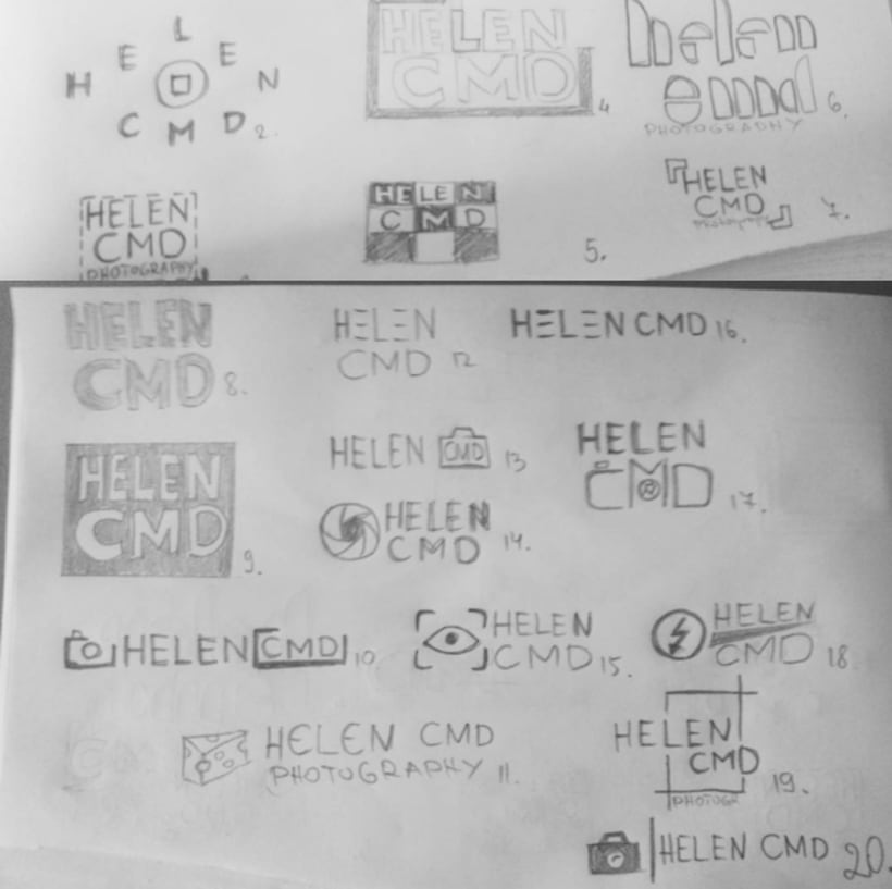 Brand Identity and Website for Helen CMD 10