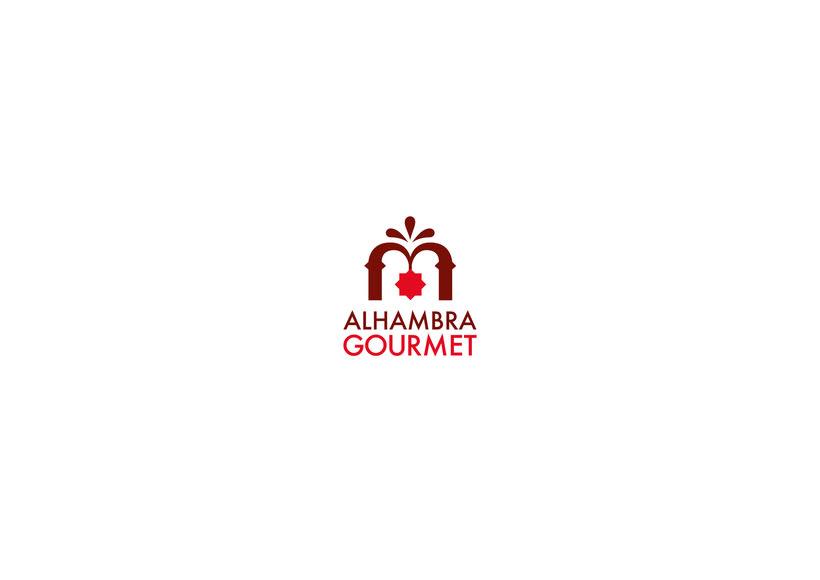 Proyecto Alhambra Gourmet. Imagen corporativa y cartelismo. 0