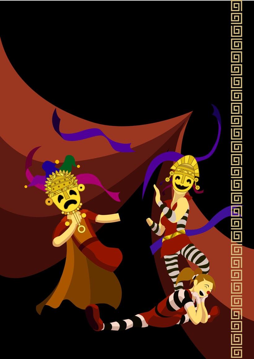Mi proyecto en Ilustración exprés con Illustrator y Photoshop 9