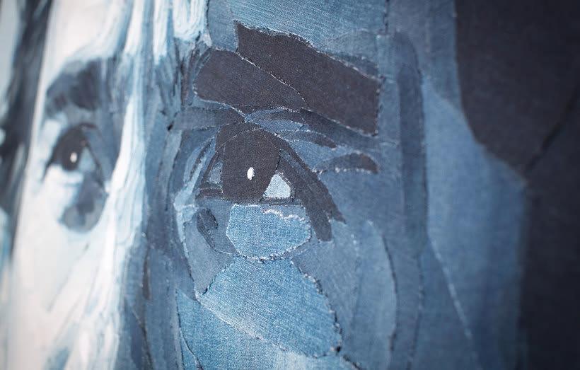 Arte a partir de pedazos de jeans 21