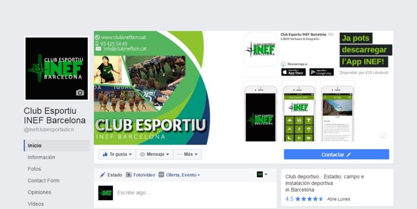 Redes Sociales Club Esportiu INEF Barcelona -1
