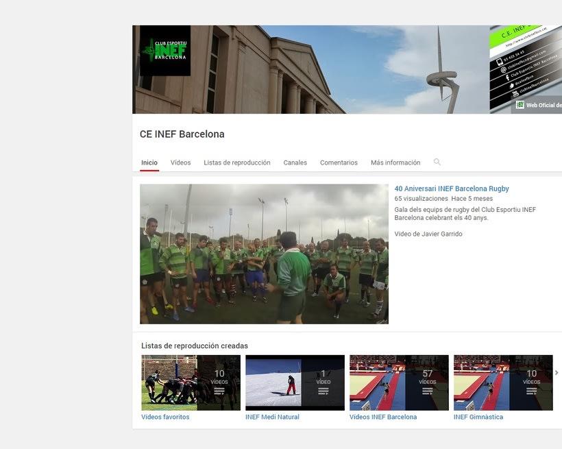Redes Sociales Club Esportiu INEF Barcelona 1