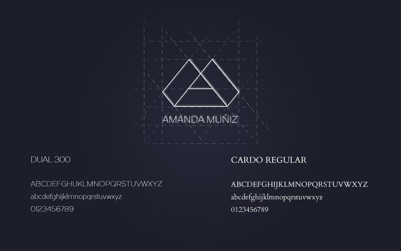 Amanda Muñiz Photography - Corporate Identity 1