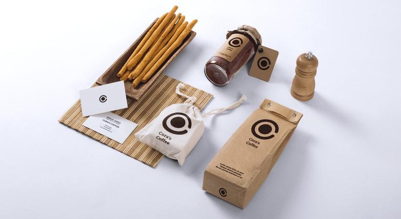Cora´s Coffee - Corporate Identity 4