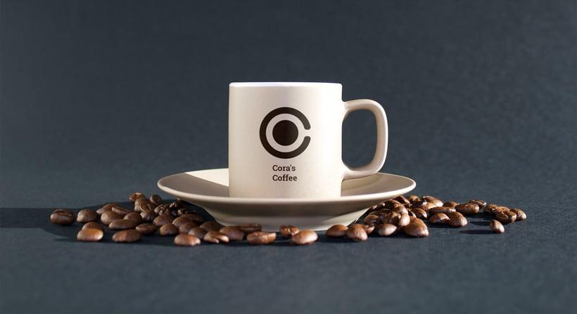 Cora´s Coffee - Corporate Identity 0
