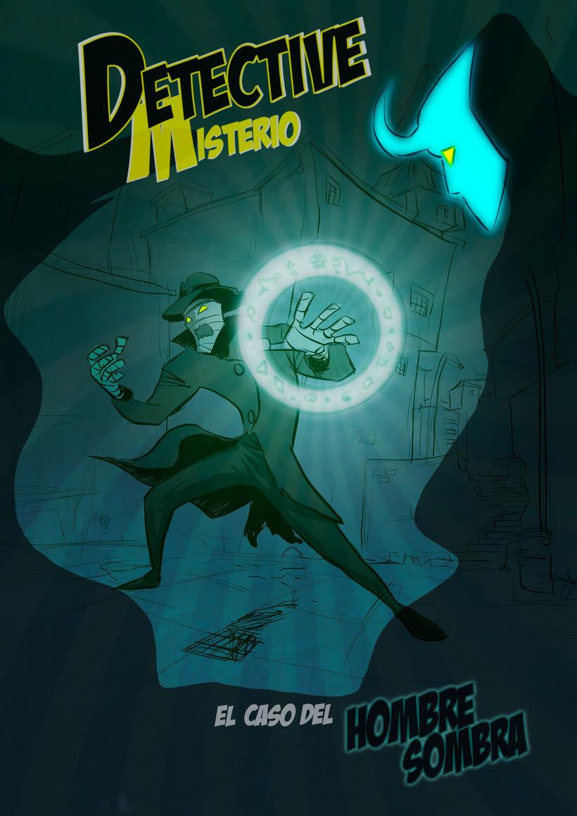 nuevas paginas de Detective Misterio 0