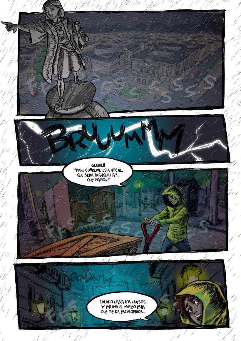 nuevas paginas de Detective Misterio 1