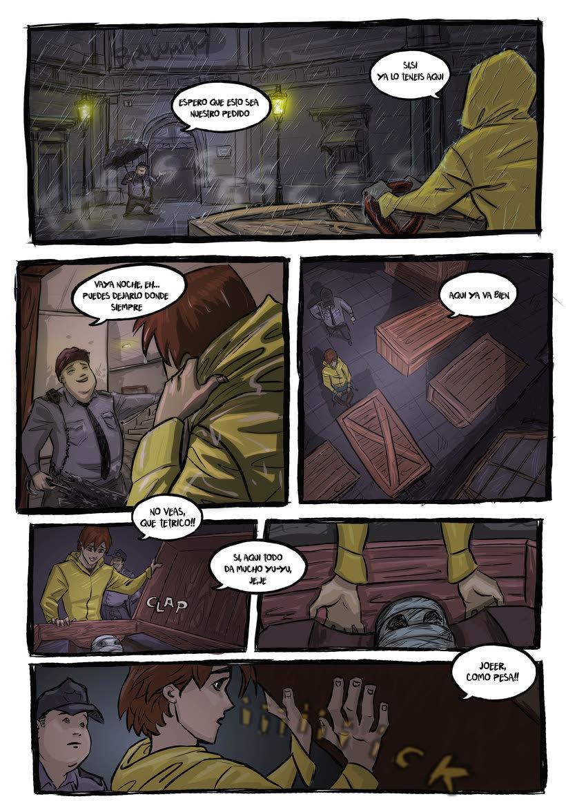 nuevas paginas de Detective Misterio 2