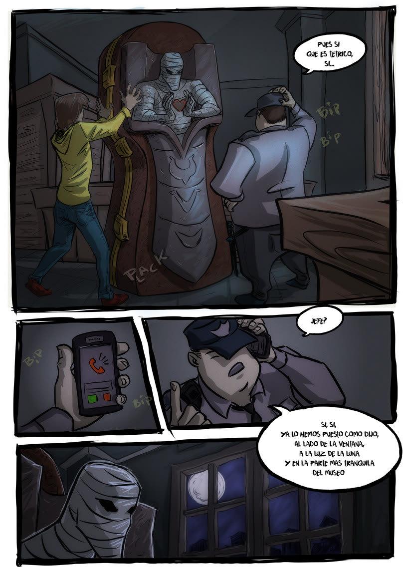 nuevas paginas de Detective Misterio 3