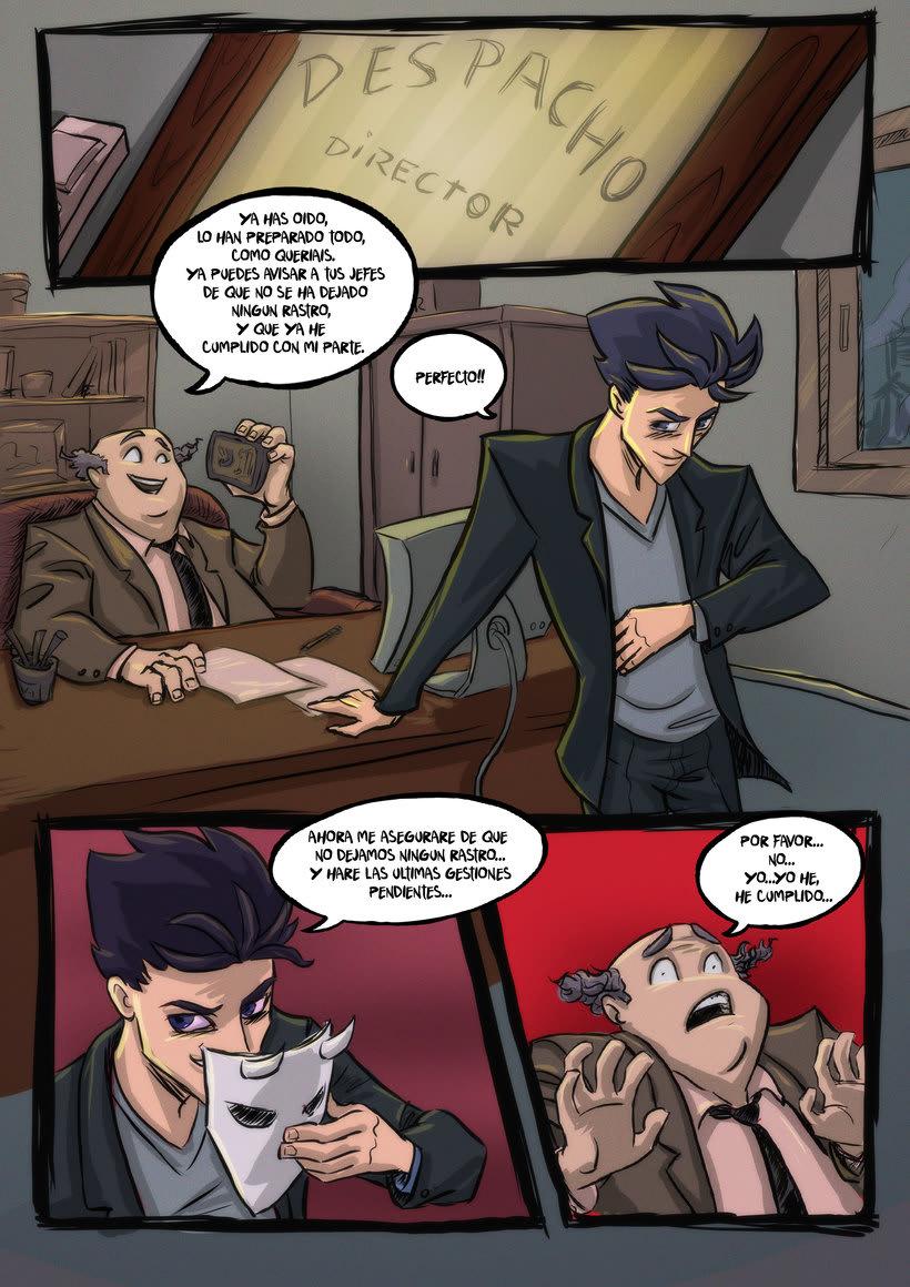 nuevas paginas de Detective Misterio 4