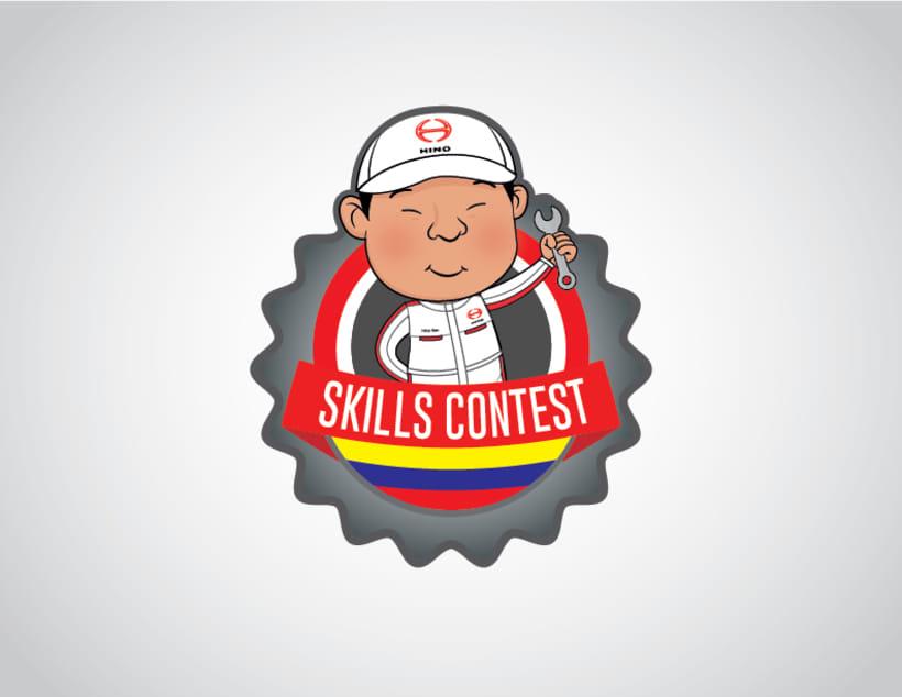 Logo Skills Contest Hino Colombia -1