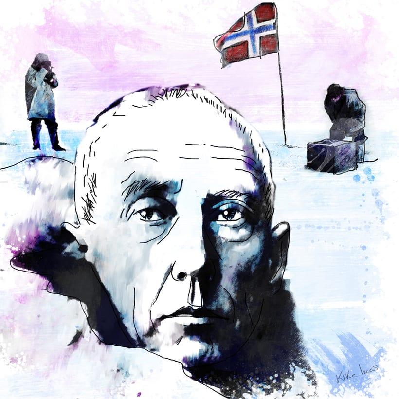 Amundsen y la primera expedición al Polo Sur -1