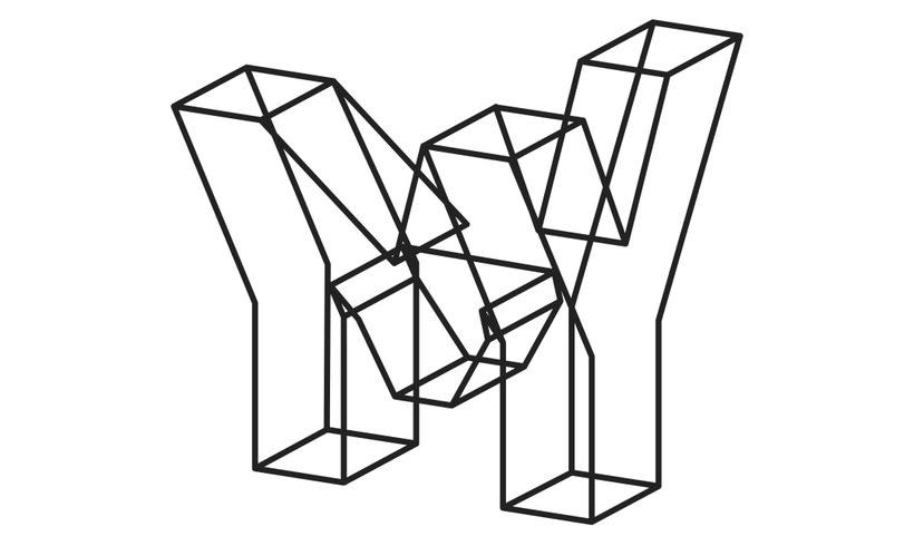Volumetric logo & concept poster -1
