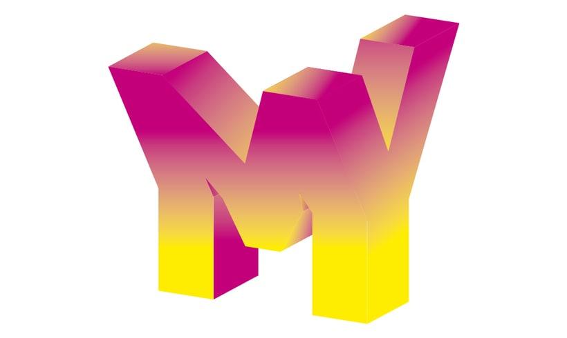 Volumetric logo & concept poster 0