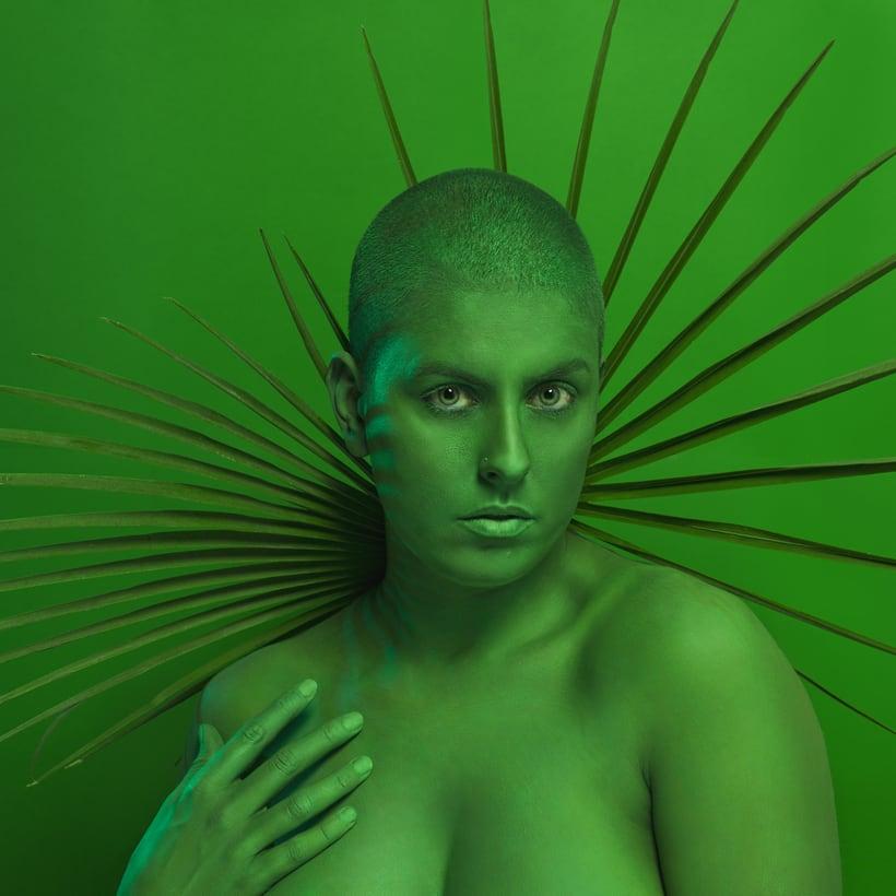 M O N O C H R O M E series - Experimentando con el color  2