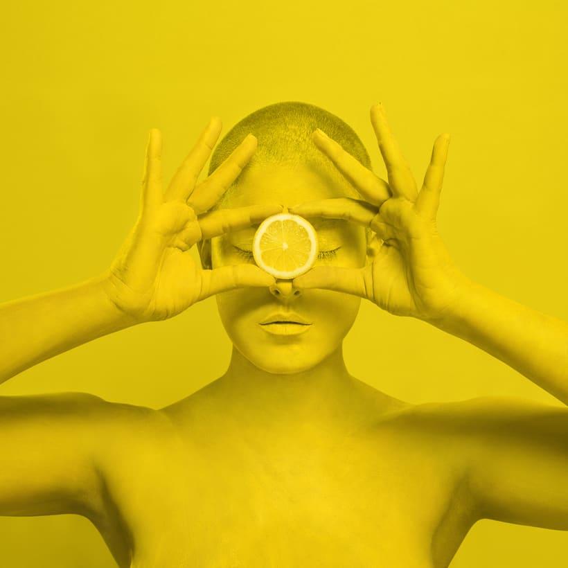 M O N O C H R O M E series - Experimentando con el color  6