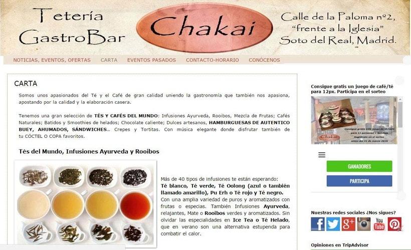 Tetería Chakai Gastro Bar -1