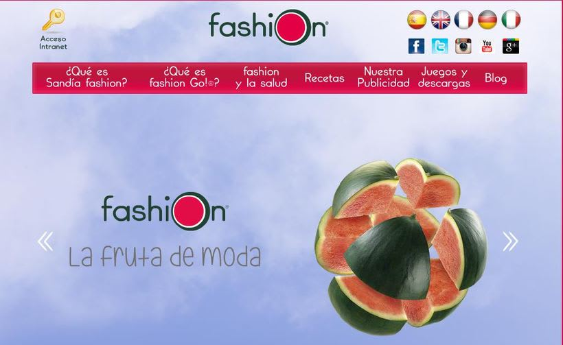 Sandia fashion. Community Manager. Copywriter. Creación blog Wordpress -1
