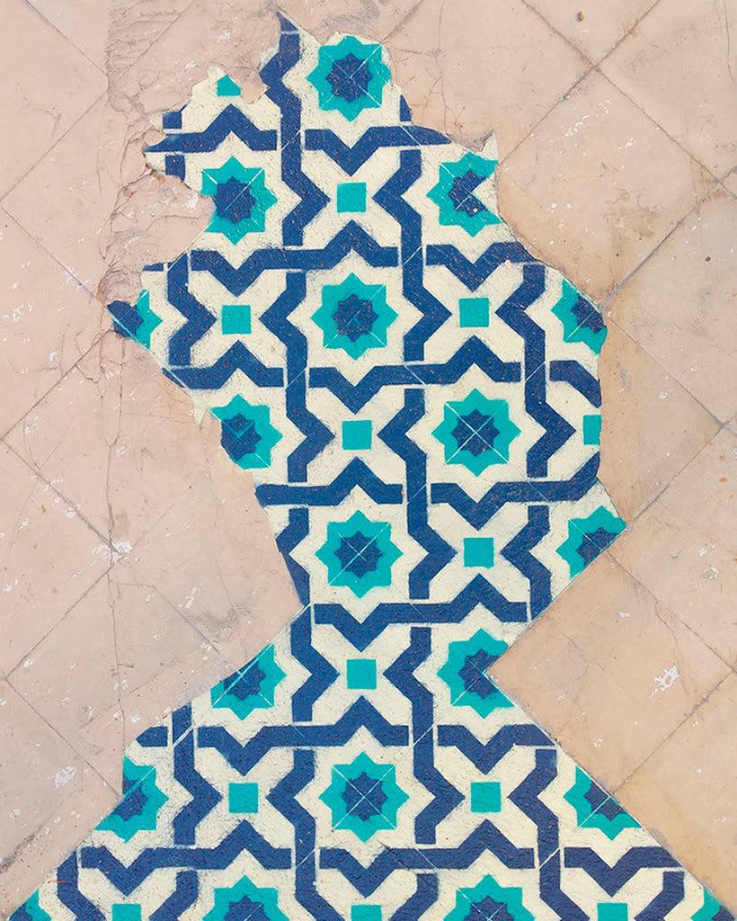 Javier de Riba, un maestro en el arte de pintar suelos hidráulicos 5