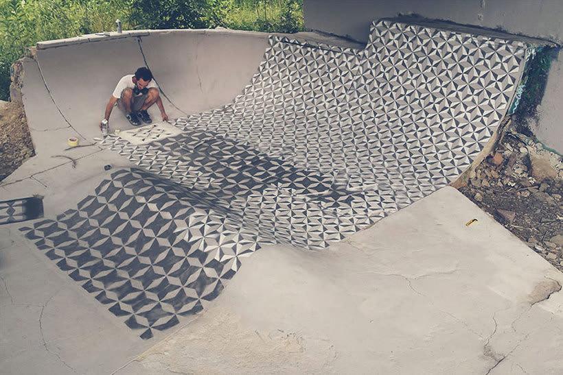 Javier de Riba, un maestro en el arte de pintar suelos hidráulicos 13