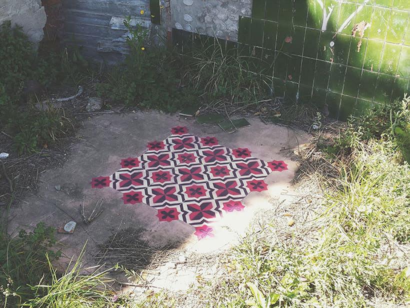 Javier de Riba, un maestro en el arte de pintar suelos hidráulicos 22