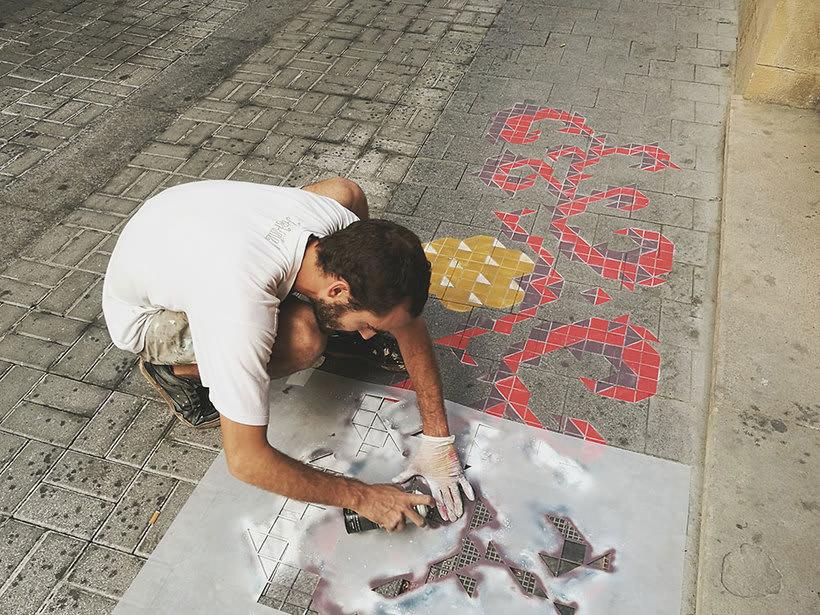 Javier de Riba, un maestro en el arte de pintar suelos hidráulicos 21