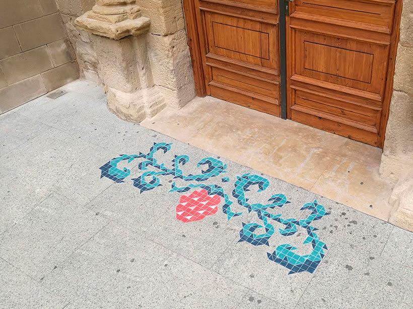 Javier de Riba, un maestro en el arte de pintar suelos hidráulicos 11