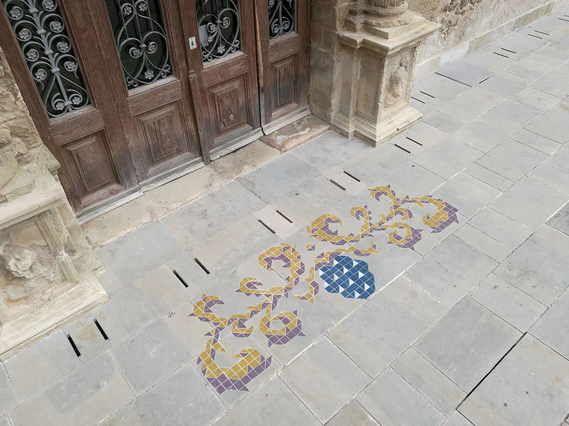Javier de Riba, un maestro en el arte de pintar suelos hidráulicos 23