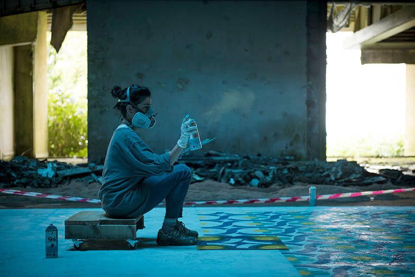 Javier de Riba, un maestro en el arte de pintar suelos hidráulicos 26