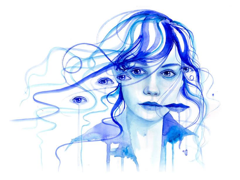 Mónica Loya muestra la belleza más fantasmagórica 6